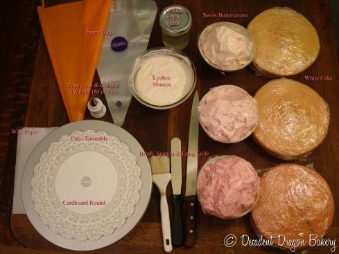 Rose Cake Tools